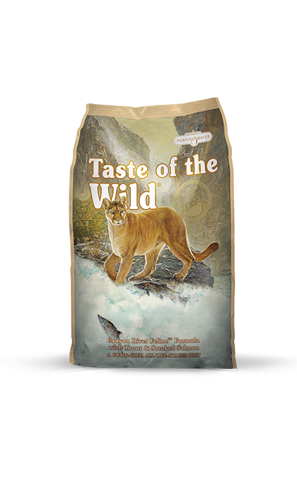 Canyon River Feline Recipe with Trout & Smoked Salmon